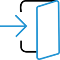 Access icon for access to platform section
