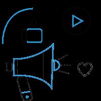 Branding & Marketing strategy icon for Branding & Marketing Strategy