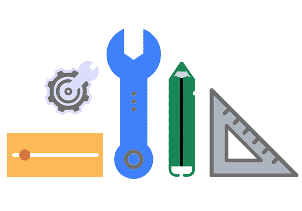 image of different tools